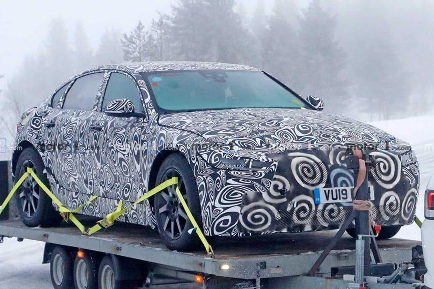 Jaguar XJ Baru Tertangkap Kamera, Beralih ke Listrik?