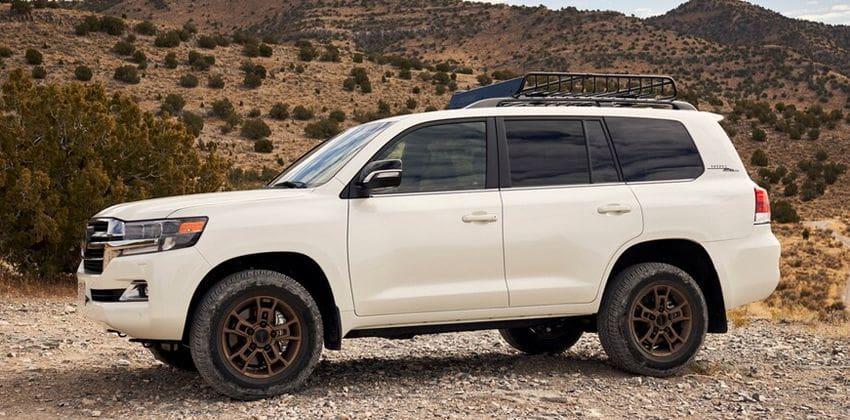 Next-generation Toyota Land Cruiser side