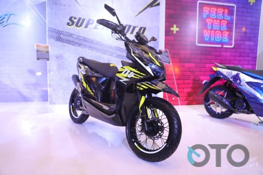 Modifikasi All New Honda Beat Cocok Untuk Kawula Muda