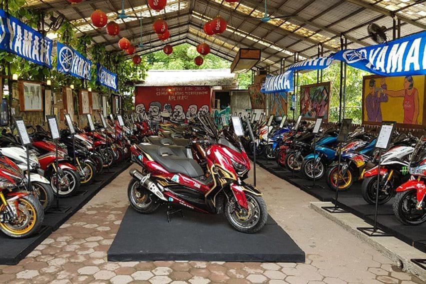 Intip Persaingan di Semifinal Customaxi x Yamaha Heritage Built 2020 Bekasi