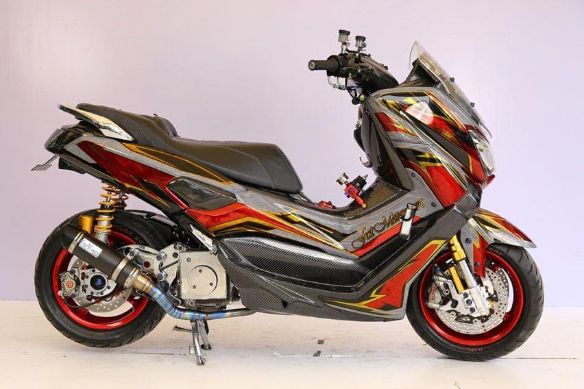 Yamaha NMax Juara Customaxi Bekasi 2020