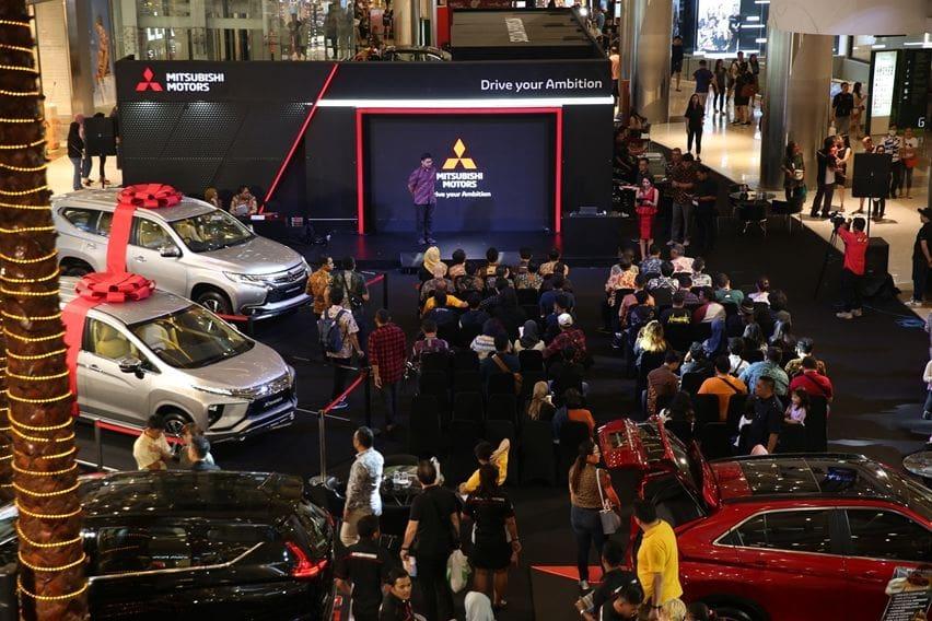 Suasana Mitsubishi Motors Auto Show central park mall