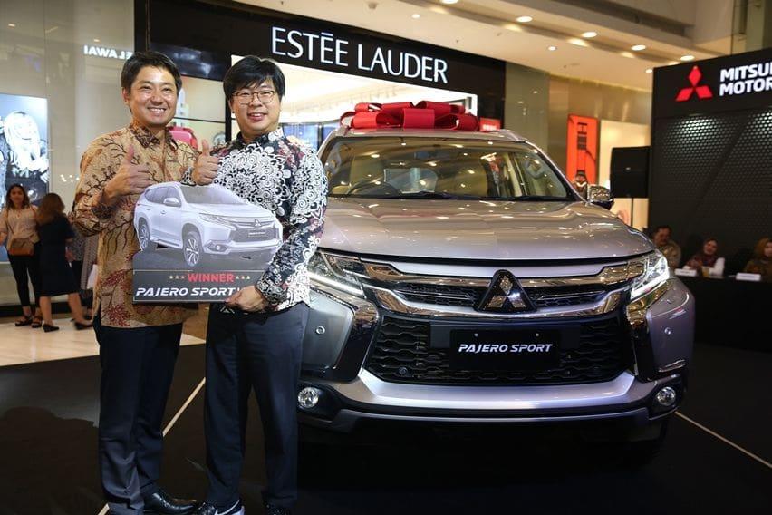 Mitsubishi Umumkan Pemenang Program Beli Mobil Berhadiah Mobil