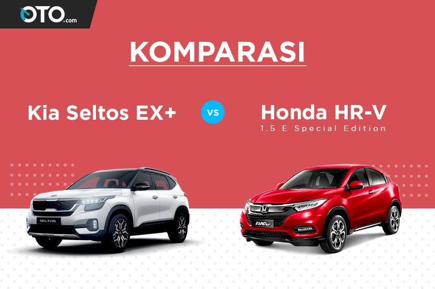 Komparasi Kompak SUV: Kia Seltos Vs Honda HR-V, Mana Paling Hebat?