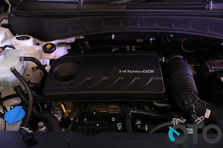 Semua tipe varian dibekali mesin 1.4 liter turbo