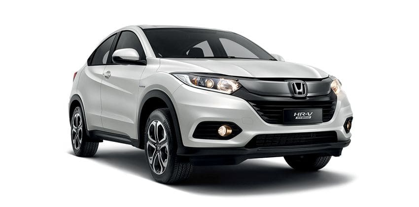 Honda HR-V Hybrid exterior