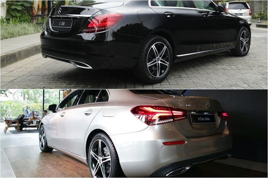 C180 vs A200 sedan