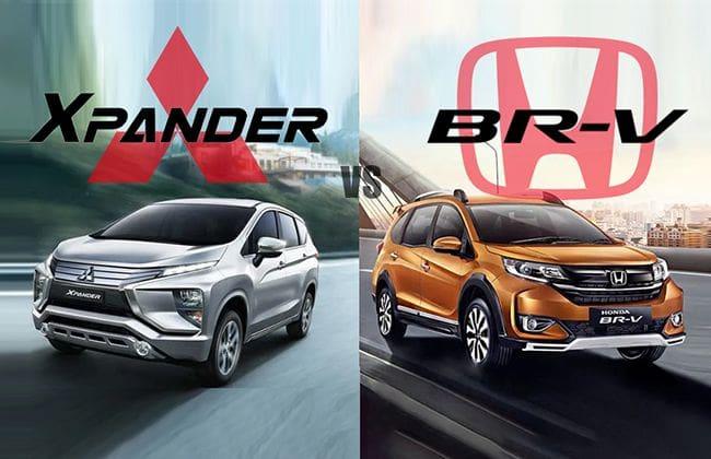 Mitsubishi Xpander vs Honda BR-V - The better pick