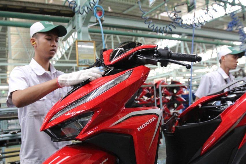 Honda Beat dan Vario Jaga Posisi Sebagai Kontributor Terbesar Ekspor AHM