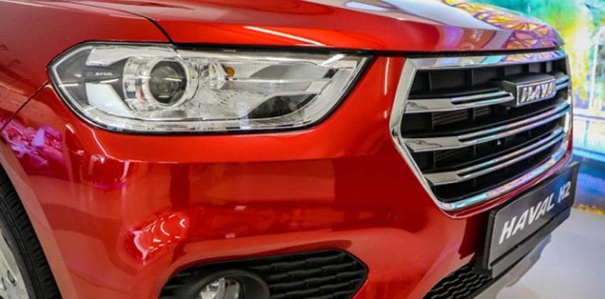 2020 Haval H2 headlights