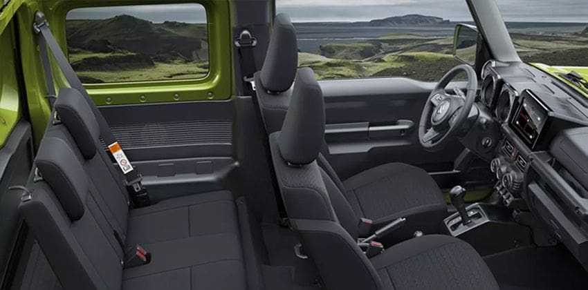 Suzuki Jimny cabin