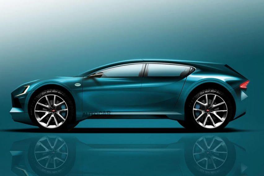 Render Bugatti SUV elektrik by Autocar