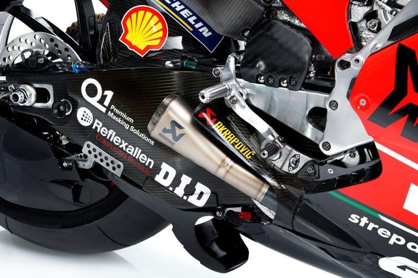 Spesifikasi Ducati Desmosedici GP20