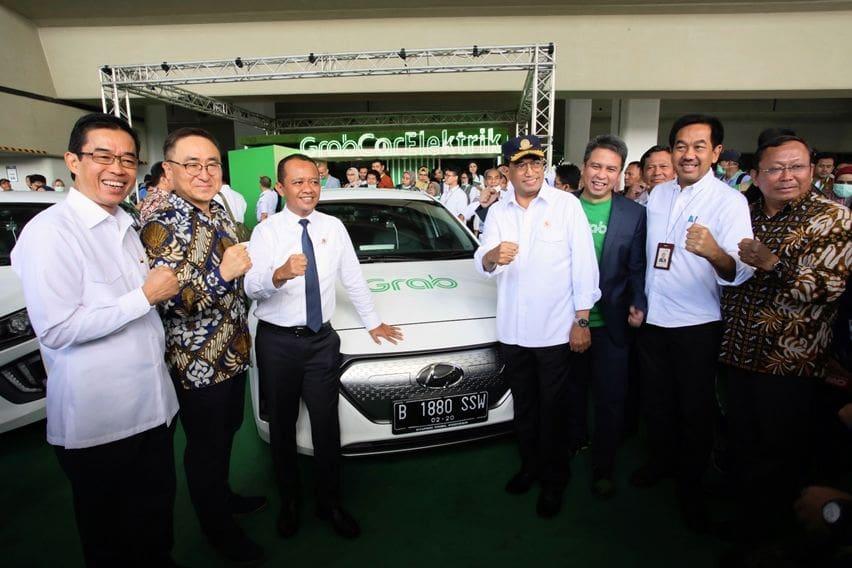 Launching GrabCar Elektrik x Hyundai Ioniq