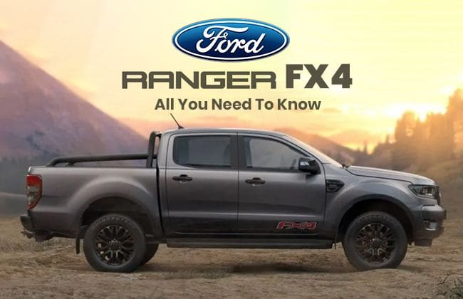Ford Ph Welcomes 2020 Ranger Fx4 Here S What You Need To Know Zigwheels
