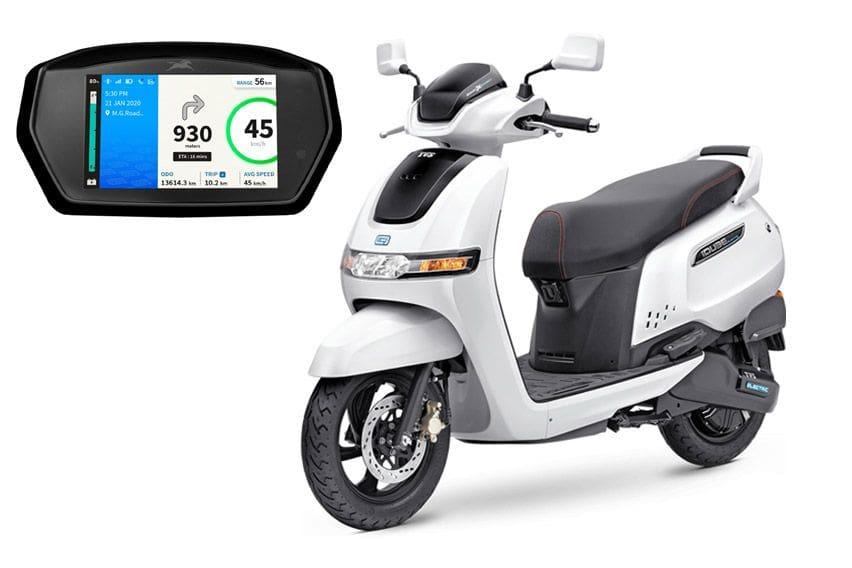 Skutik Listrik TVS iQube, Lebih Canggih dari Honda Scoopy