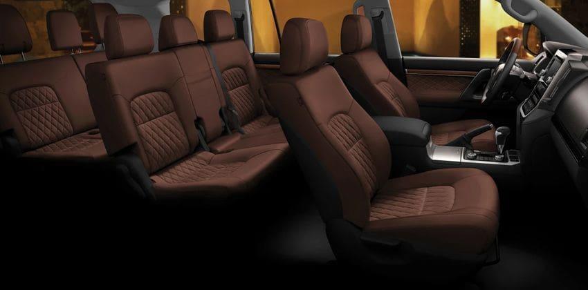 Toyota Land Cruiser cabin