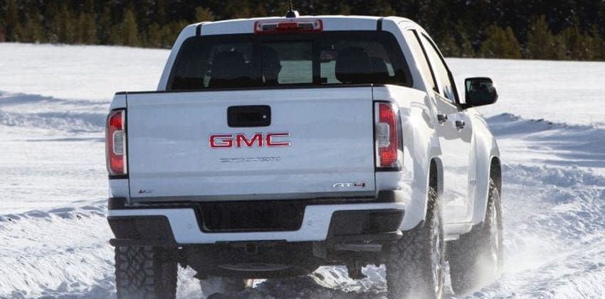 gmc canyon at4 gets an offroad performance edition