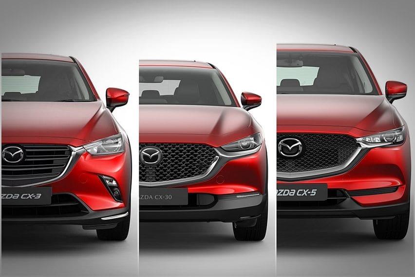 Komparasi Teknis Mazda: CX-3 vs CX-30 vs CX-5
