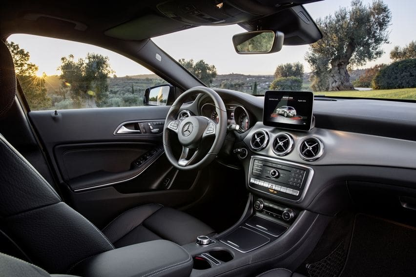 Interior GLA 200
