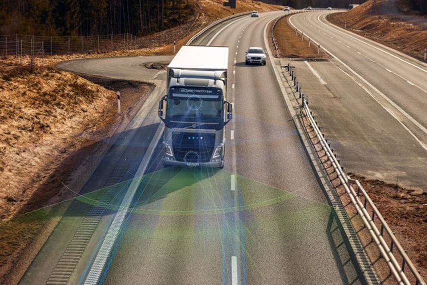Teknologi canggih truk Volvo