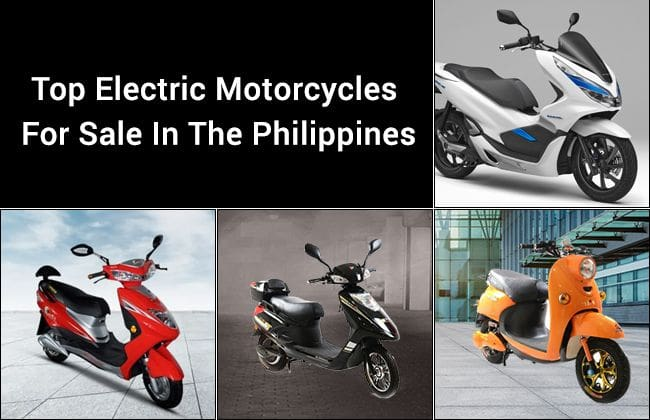 Top electric motorcycles for sale in the Philippines