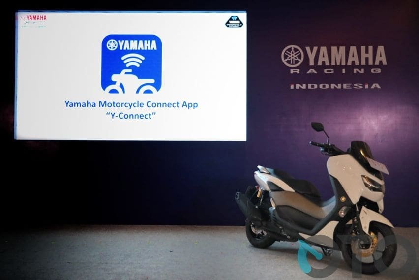 Yamaha Nmax Connected dan apps