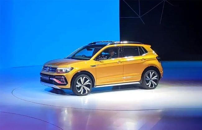 volkswagen taigun unveiled official launch in 2021