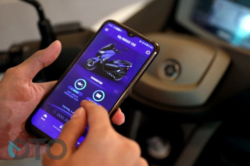 Yamaha NMax Connected Y-Connect di PlayStore dan App Store iOS