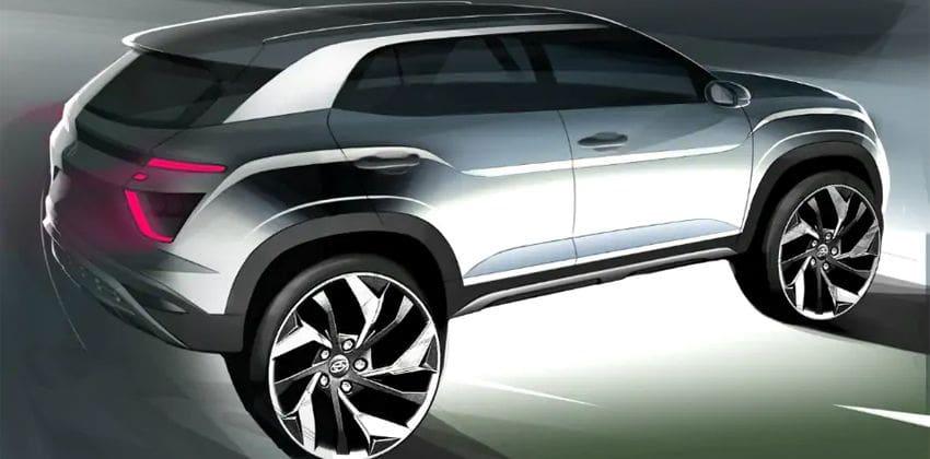 2020 Hyundai Creta design sketches