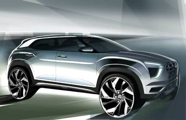 Hyundai releases design sketches of next-generation Creta