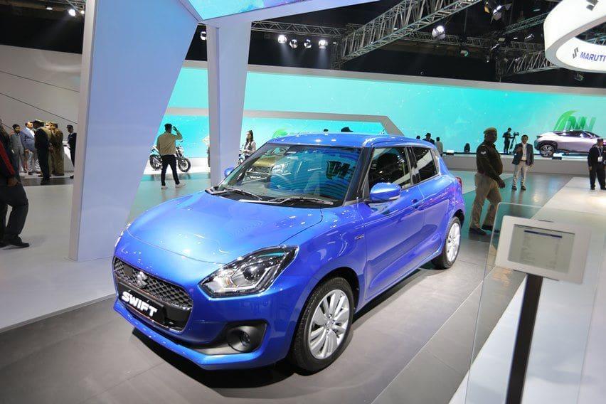 Swift hybrid hadir di India auto expo 2020