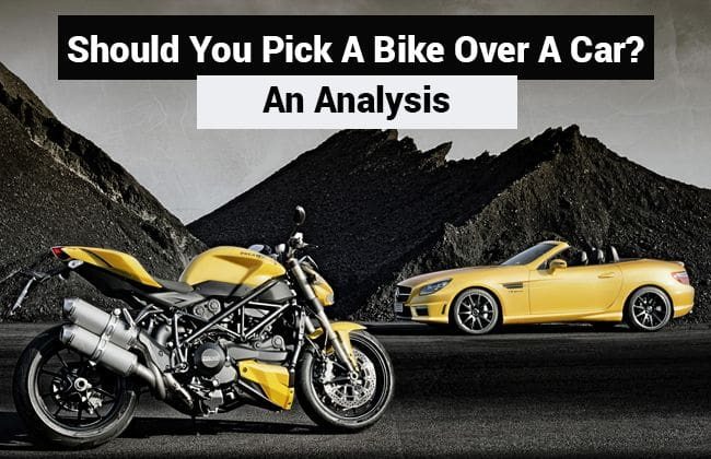 Should you pick a bike over a car? - An Analysis