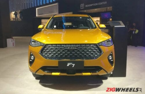 Auto Expo 2020: Haval F7 unveiled, packs in advanced safety features