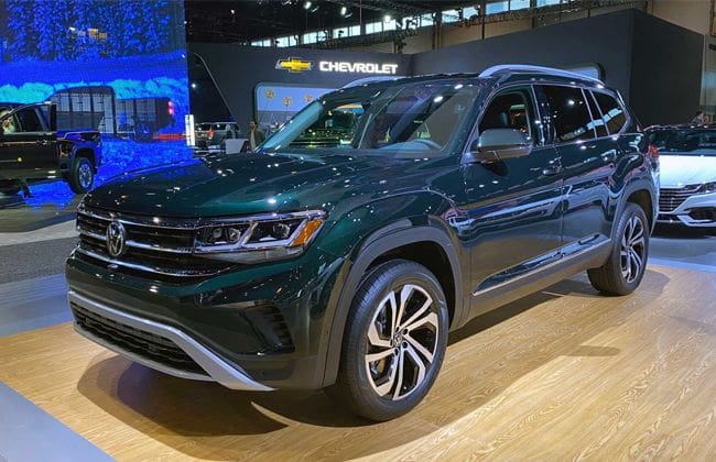 Chicago Auto Show 2020: 2021 Volkswagen Atlas debuts, to be launched in spring