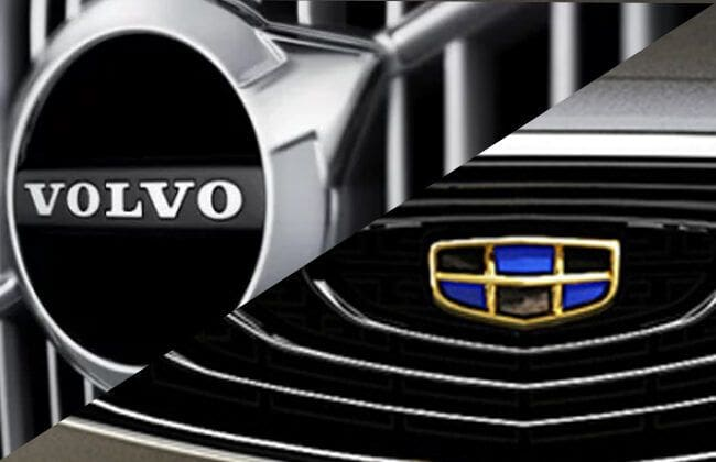 Geely and Volvo on merger terms, to create an automobile conglomerate