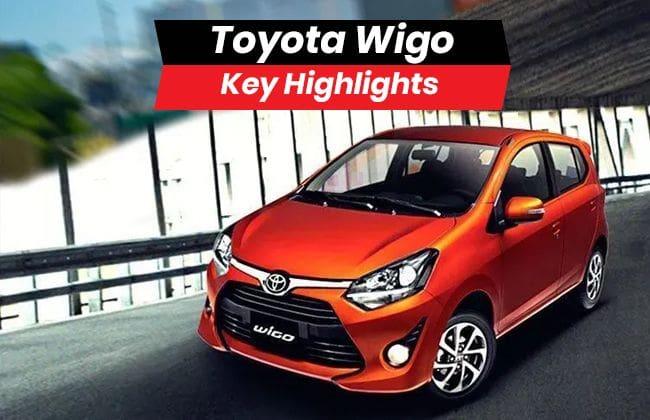Toyota Wigo - Key highlights