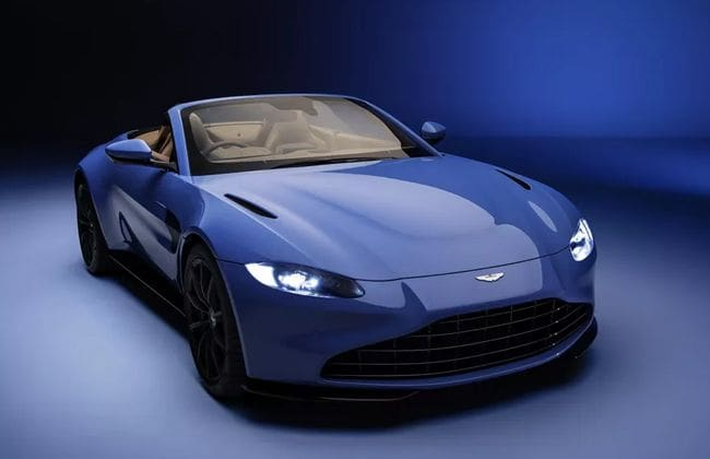 Aston Martin unveils Vantage Roadster Convertible; deliveries start from Q2