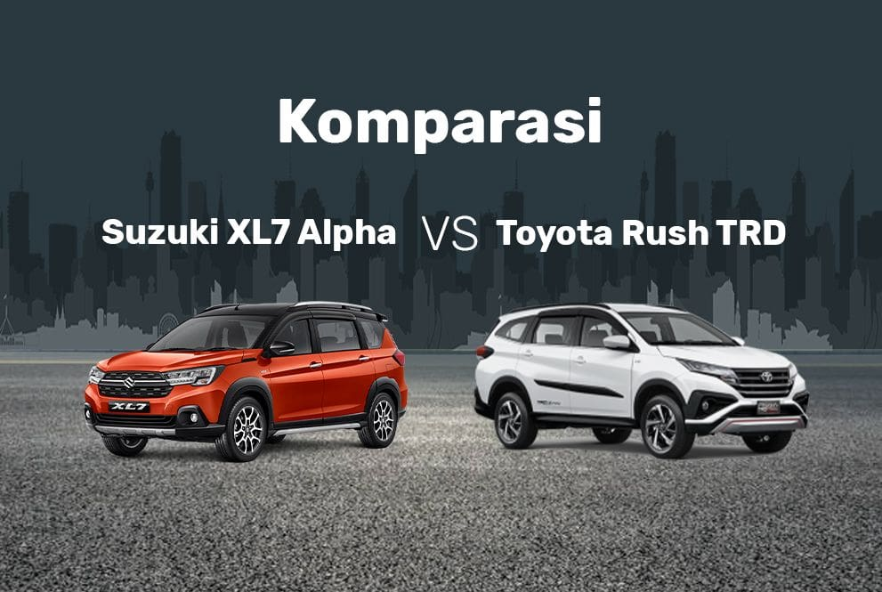 Suzuki XL7 Alpha Lawan Toyota Rush TRD, Pilih yang Mana?