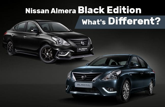 Nissan Almera Black Edition - What's different?
