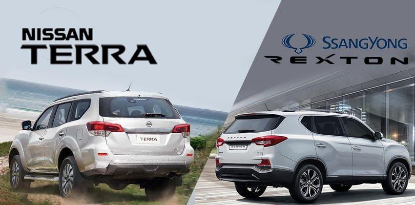 Nissan Terra vs SsangYong Rexton