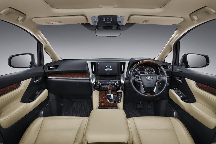 Interior Alphard 2020