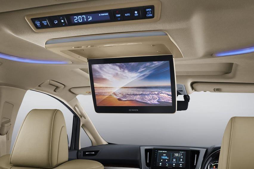 Roof monitor lebih besar pada Alphard 2020