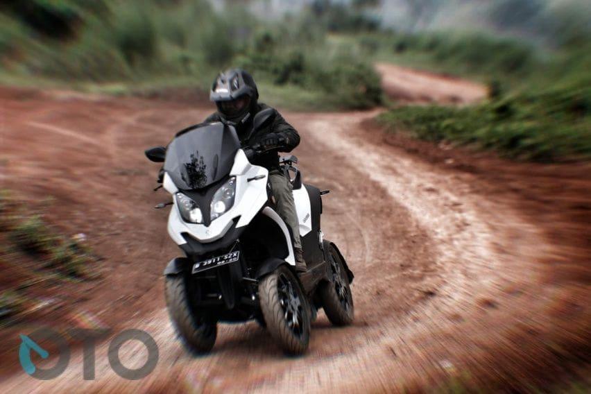 Test Ride Qooder: Kendali Optimal di Berbagai Medan (Part-2)