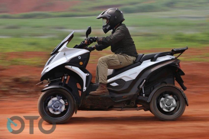 qooder 4 wheel sqooter