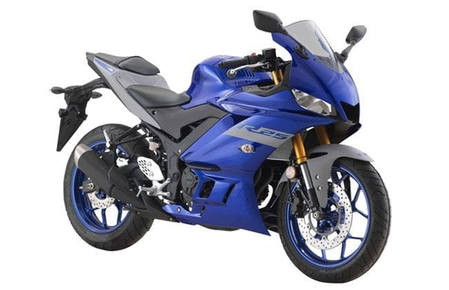 2020 Yamaha YZF-R25 introduced with new colours and graphics