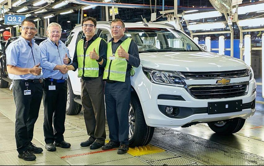 Pabrik Chevrolet Trailblazer di Thailand (Carscoops)