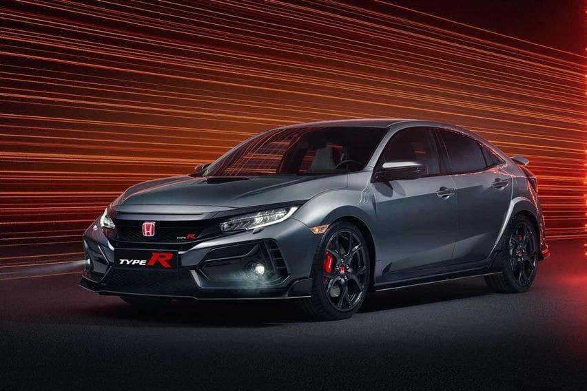 Tanpa Sayap Besar, Honda Civic Type R Sports Line Tampil Lebih Santun