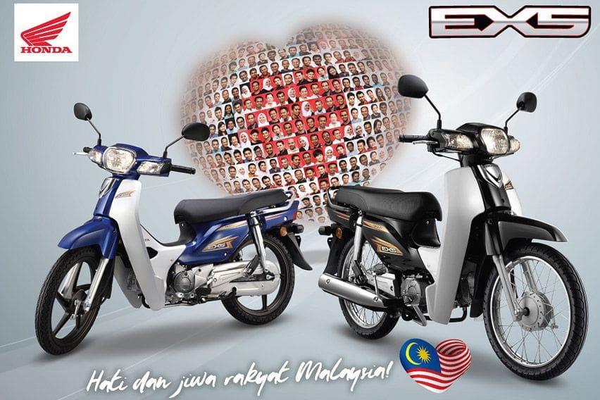 Reinkarnasi Honda Astrea Dirilis di Malaysia