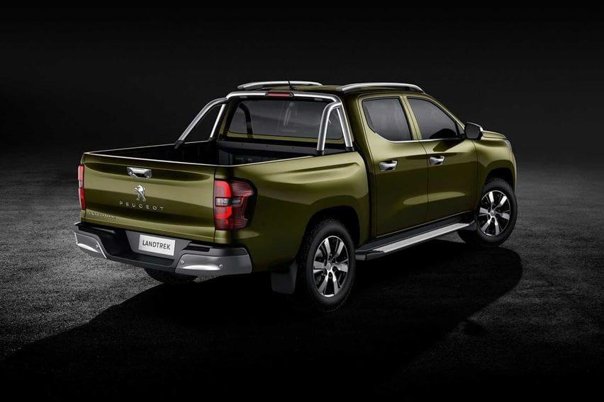 Peugeot Landtrek pick-up back